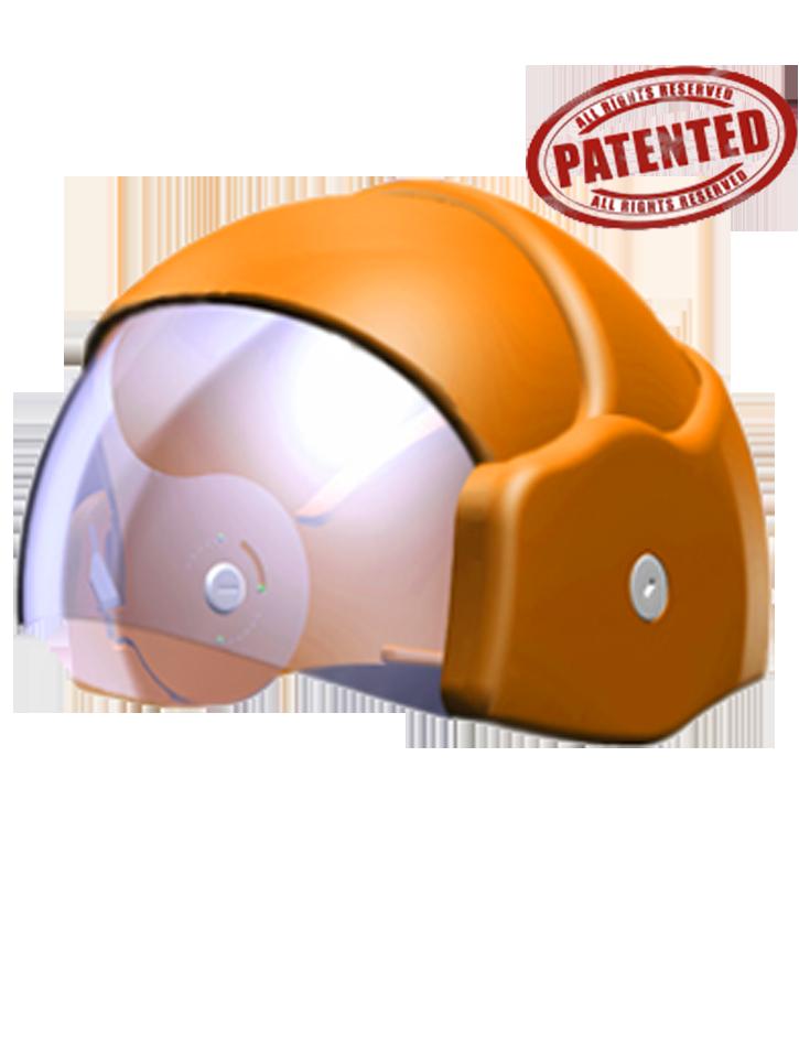 קסדה המיועדת לרוכבי אופנוע עירוניים ייחודה של הקסדה טמון ביכולתה להתקפל לשליש מגודלה.